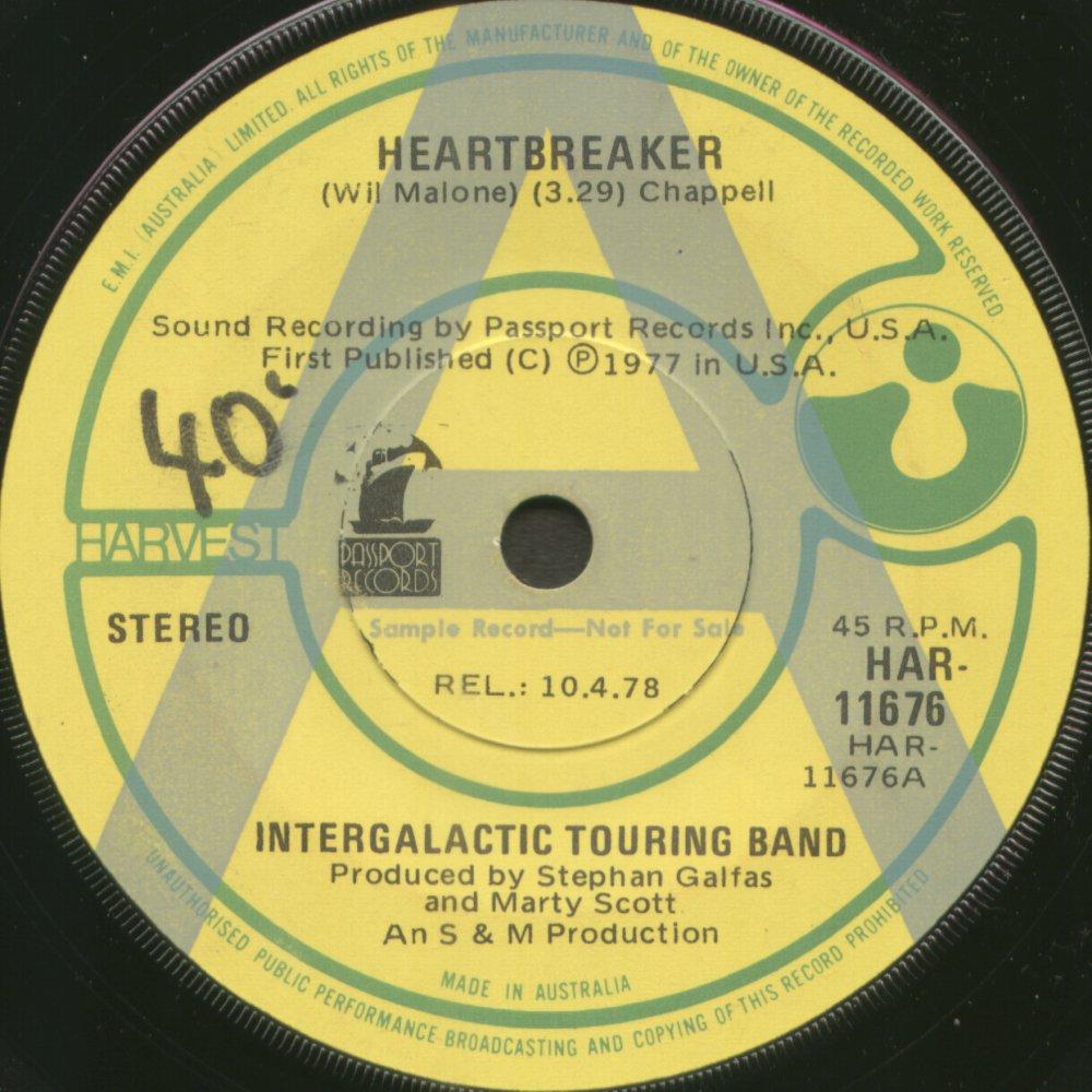 Intergalactic Touring Band Lyrics