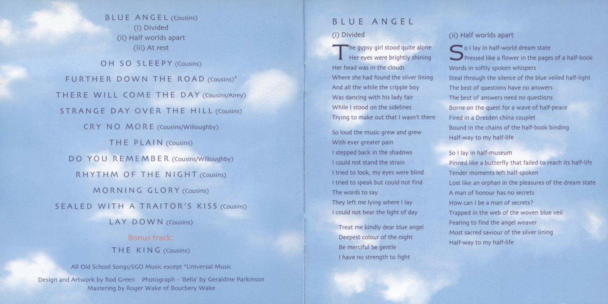 STRAWBSWEB - Albums - Blue Angel - Versions