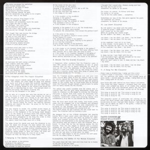 Old School Songs Vivid lyrics insert back