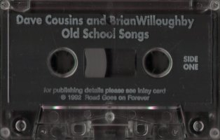 Old School Songs cassette side 1