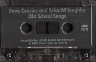 Old School Songs cassette side 2