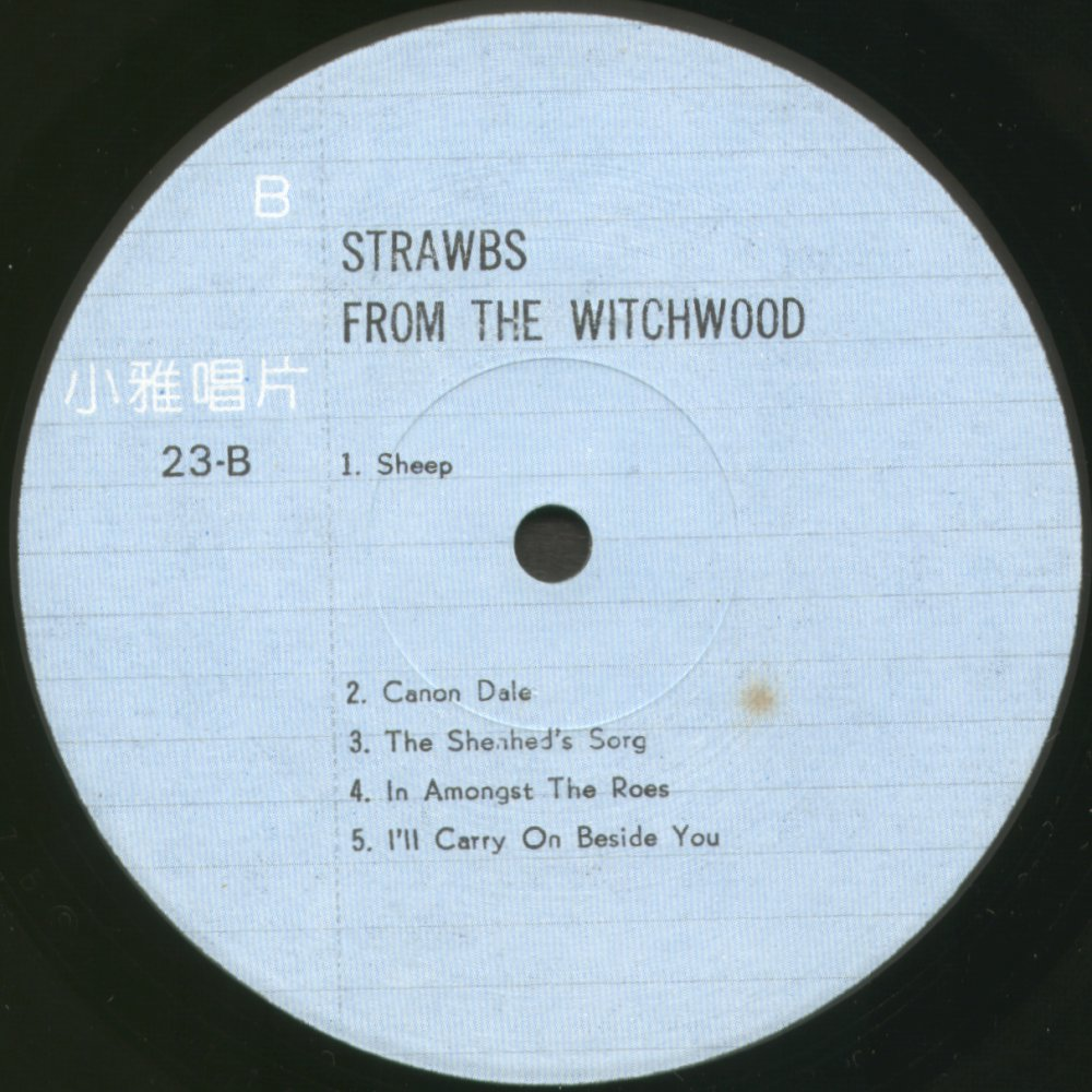 Strawbsweb Albums From The Witchwood Versions